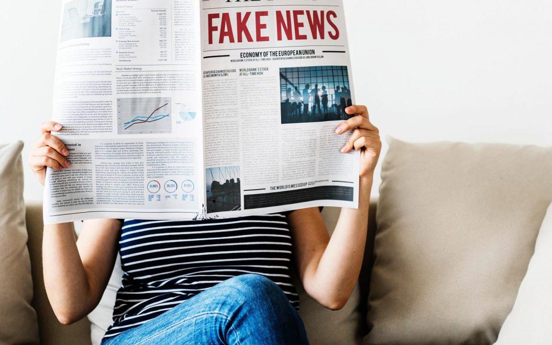 Notícias falsas, notícias verdadeiras. É preciso separar as águas.