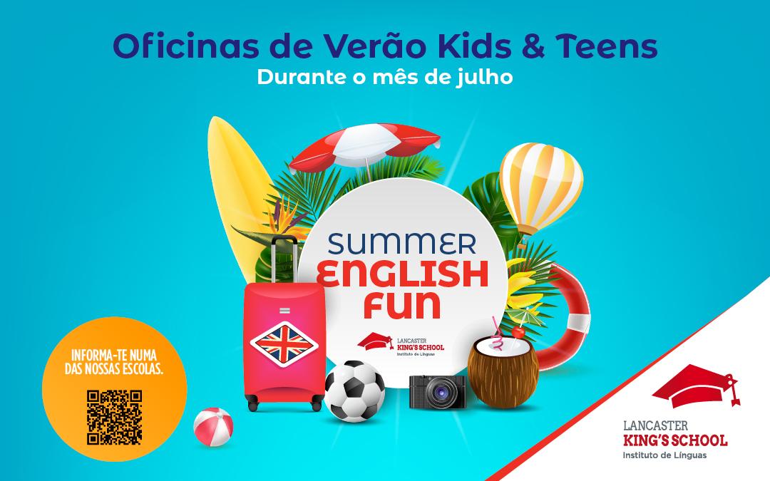 Oficinas de Verão – Kids & Teens